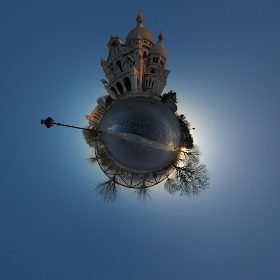 This looks much more like a tiny planet.