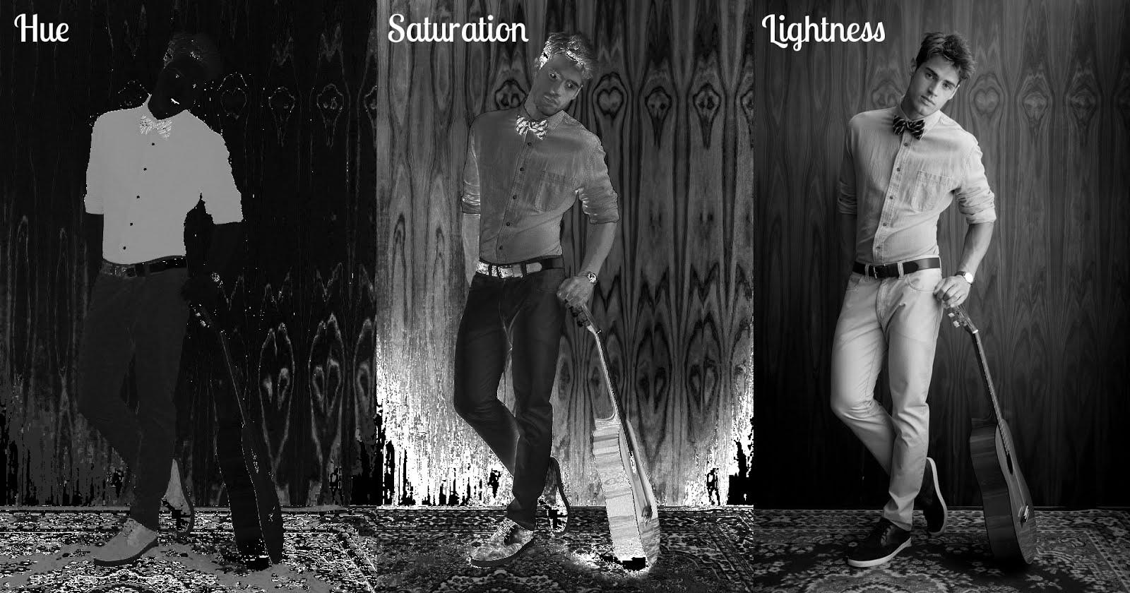 Hue, Saturation, Lightness (HSL) Channels
