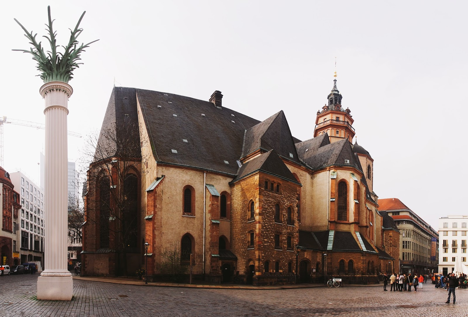 LGM2014 Leipzig Germany photowalk Nikolaikirche GIMP