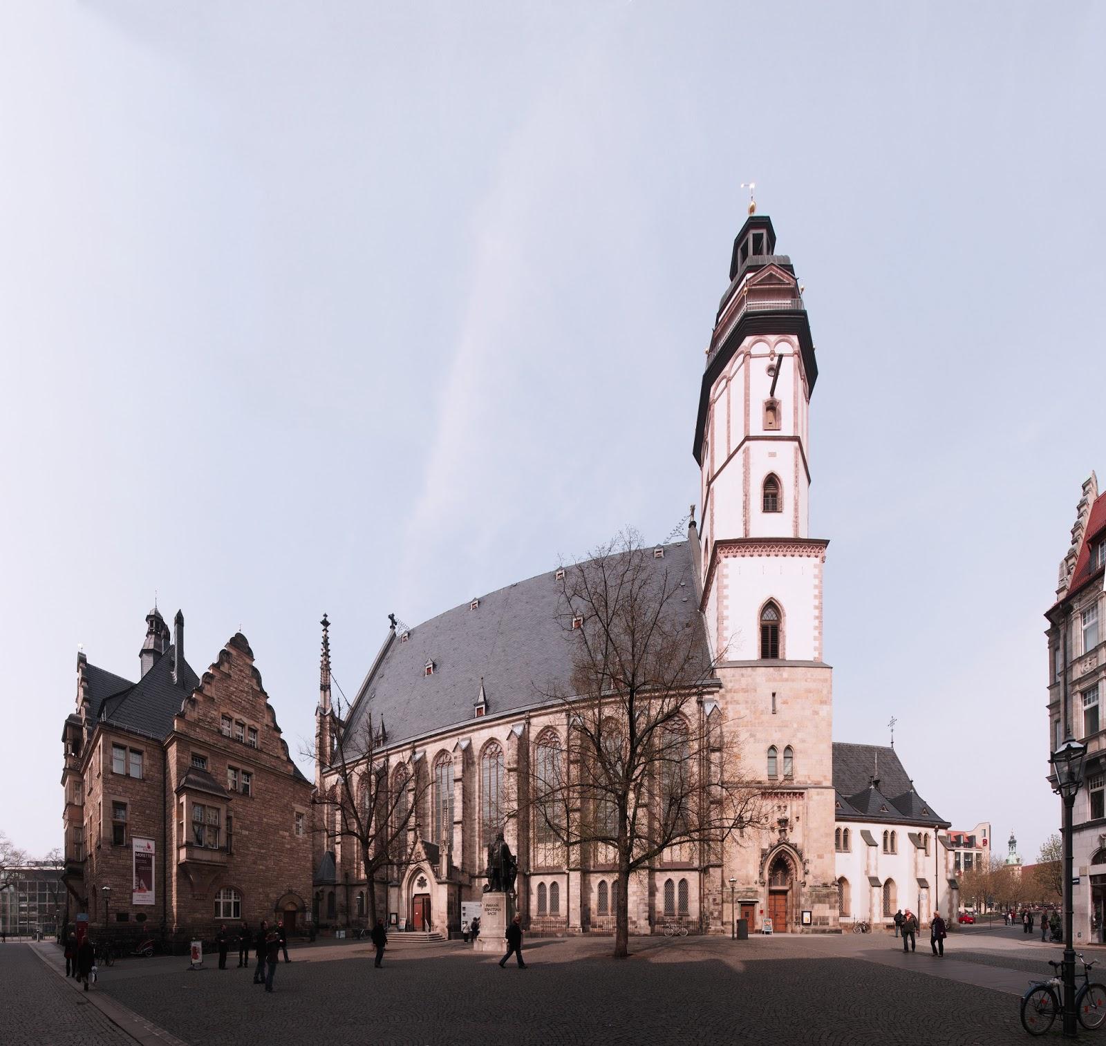 Panorama View of Thomaskirche