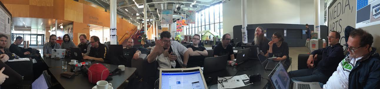 GIMP Meeting Panorama at LGM/London