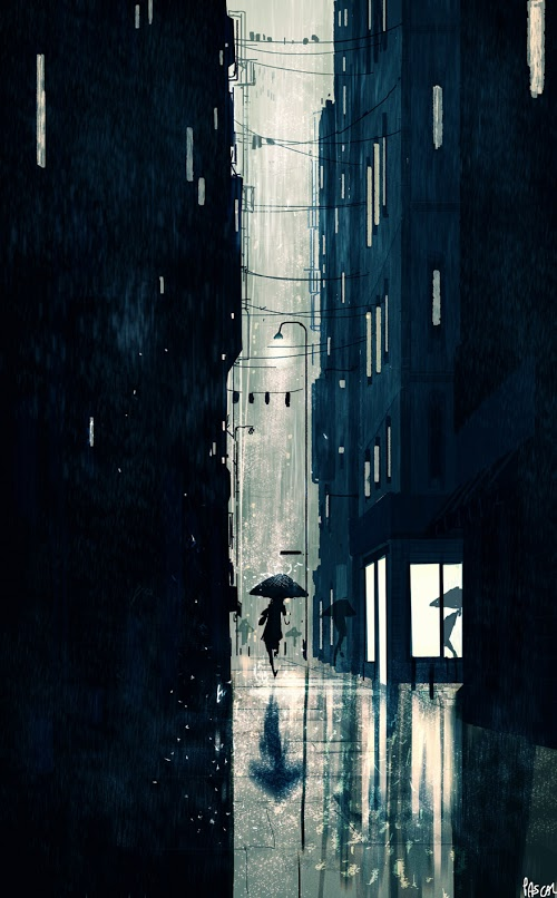 Downpour by Pascal Campion