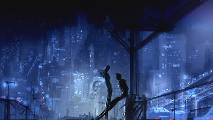 From here you can see the whole world ... by Pascal Campion