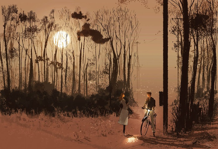 I guess this is good night... by Pascal Campion