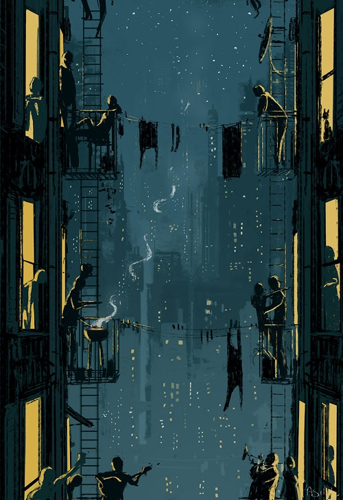 You bring the drinks, I'll bring my guitar by Pascal Campion