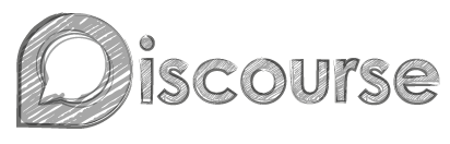 Discourse sketchy logo