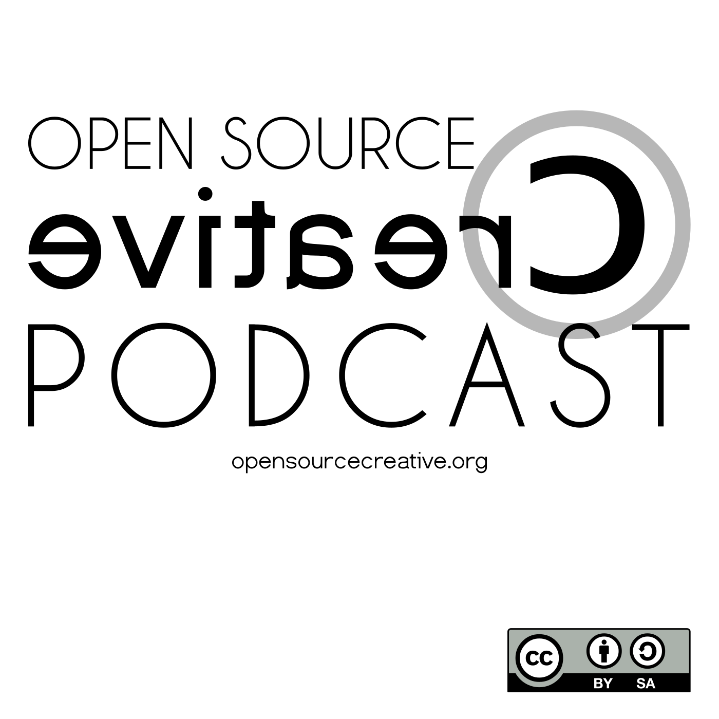 Open Source Creative Podcast Logo